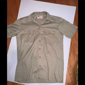 Dickies tan shirt